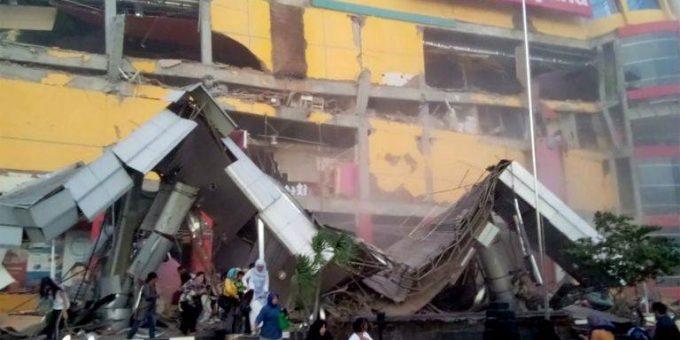 Землетрясение в Индонезии 28.09.2018 фото