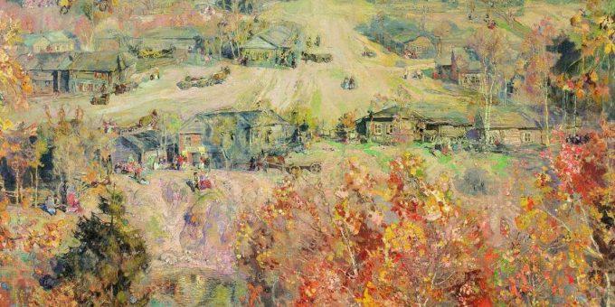 Осенние пейзажи на картинах великих русских художников