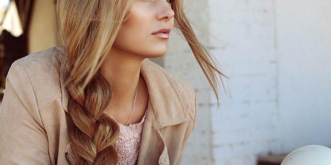 Красивые девушки с длинными косами фото