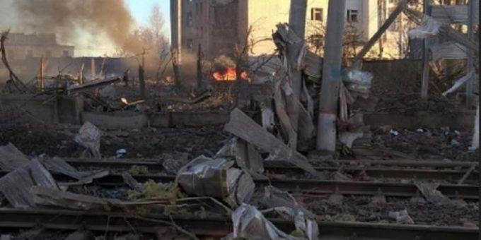 Взрыв на заводе в Гатчине фото и видео