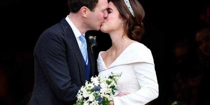 Свадьба принцессы Евгении фото