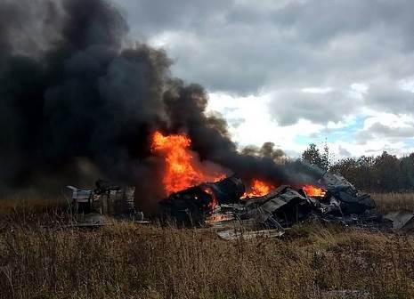 Видео крушения МиГ-29 в Подмосковье: подробности