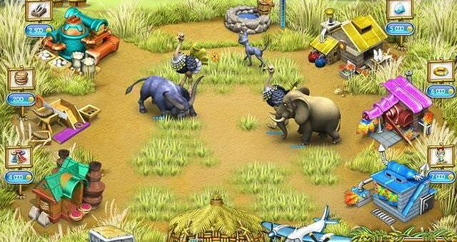 Обзор игры Весёлая ферма 3. Мадаскар