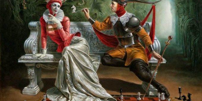 Забавные и безумно красивые картины русского художника Михаила Хохлачёва