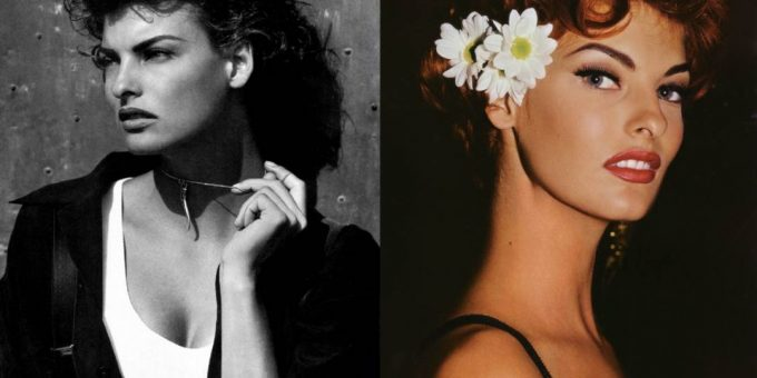 Как в молодости выглядела Линда Евангелиста (16 фото)