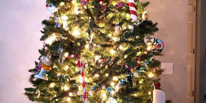 Загадка с новогодней ёлкой фото