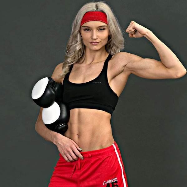 Гифка самая быстрая боксерка девочка