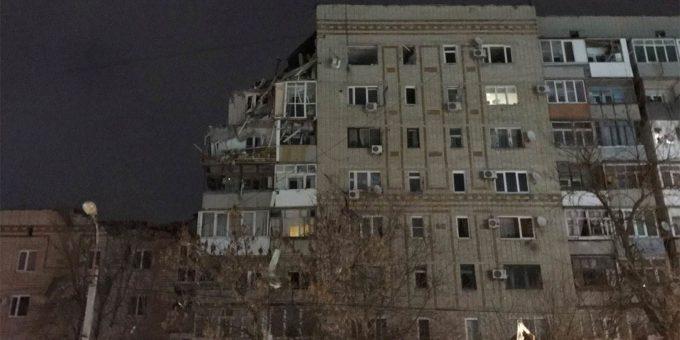 Взрыв газа в Ростовской области 14.01.2019 фото и видео