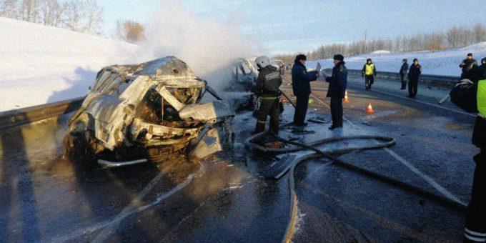 ДТП под Воронежем 15.01.2019 фото