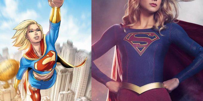 Супергероини в комиксах и кино