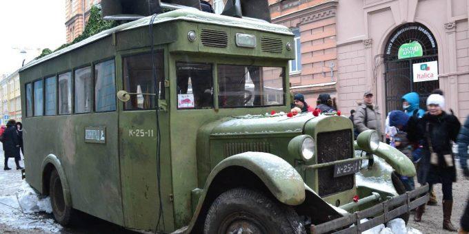 День снятия блокады Ленинграда. Улица жизни