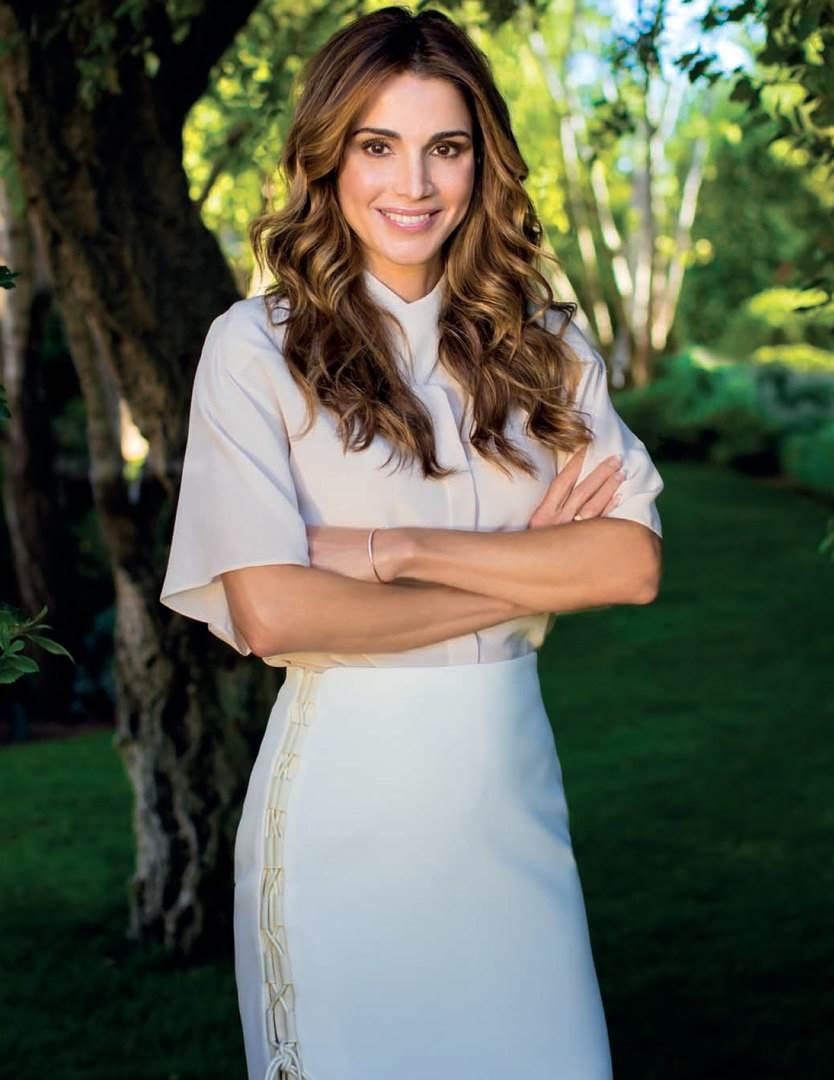 Фотографии королевы иордании