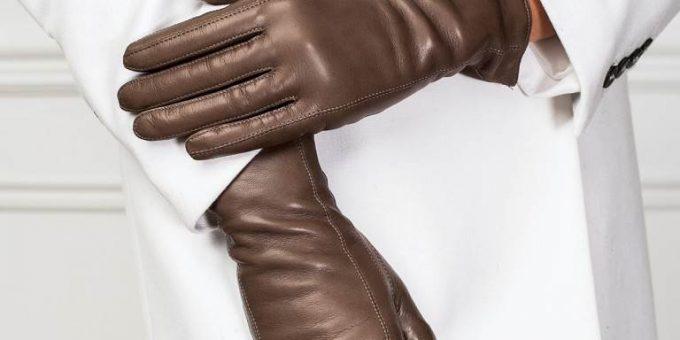 «Gretta» кожаные женские перчатки