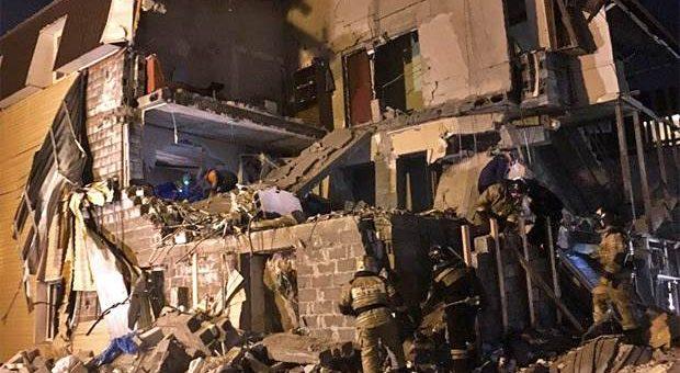 Обрушение дома в Красноярске 14 февраля фото