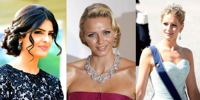 Самые красивые королевы и принцессы мира (22 фото)