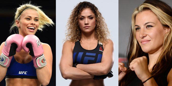 Самые красивые девушки из UFC (18 фото)