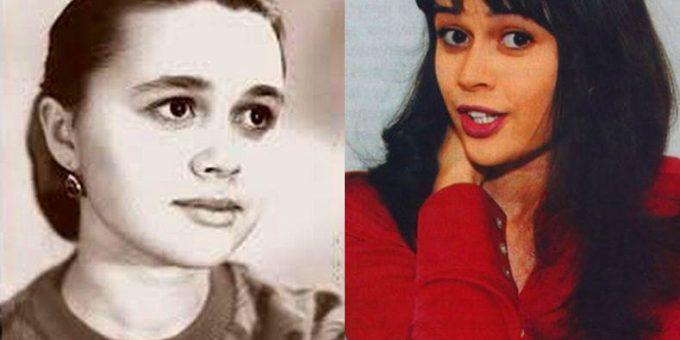 Как в молодости выглядела Анастасия Заворотнюк