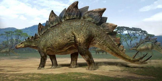 Динозавры, жившие на территории России