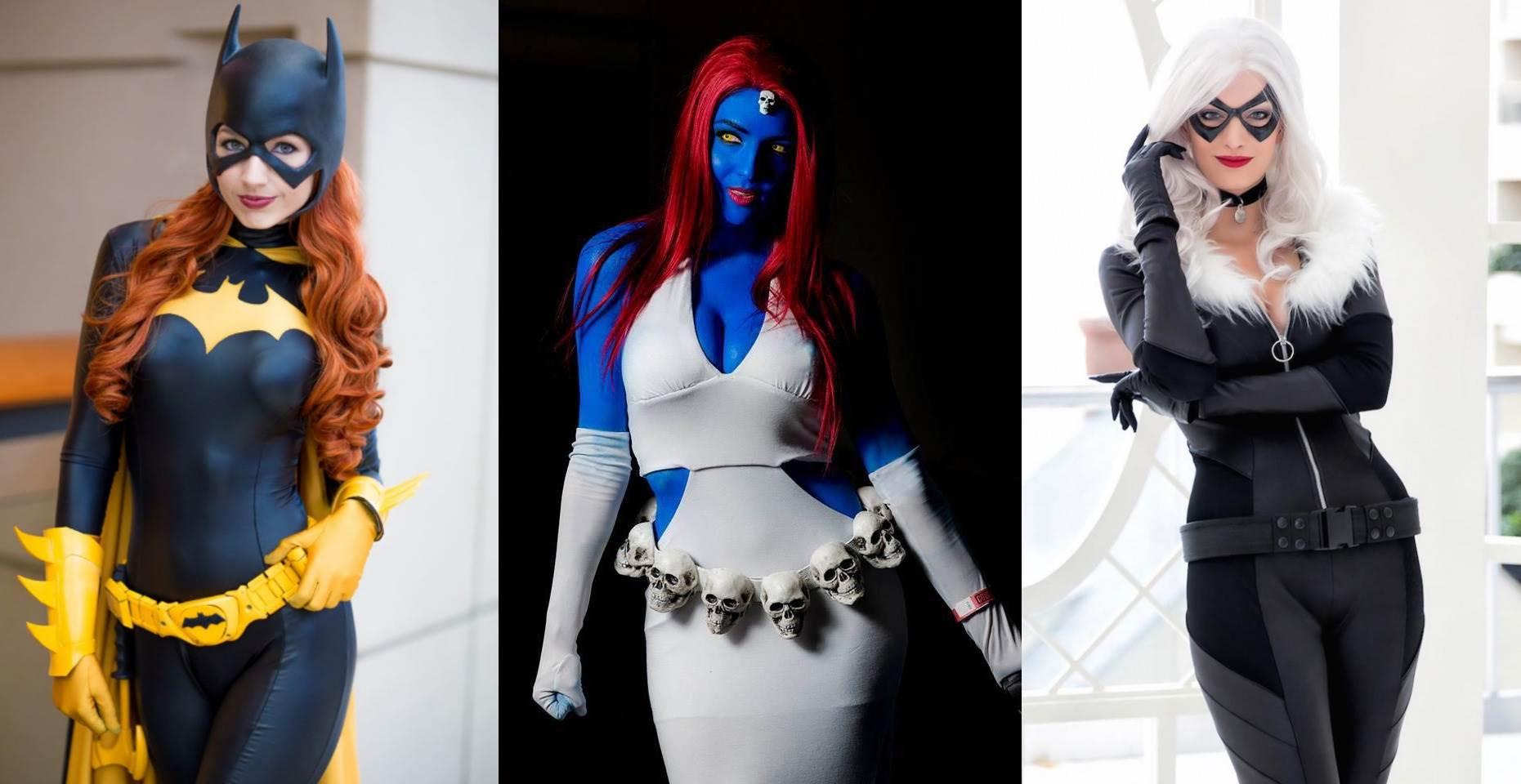 Красивый косплей девушек на известных супергероинь (18 фото)