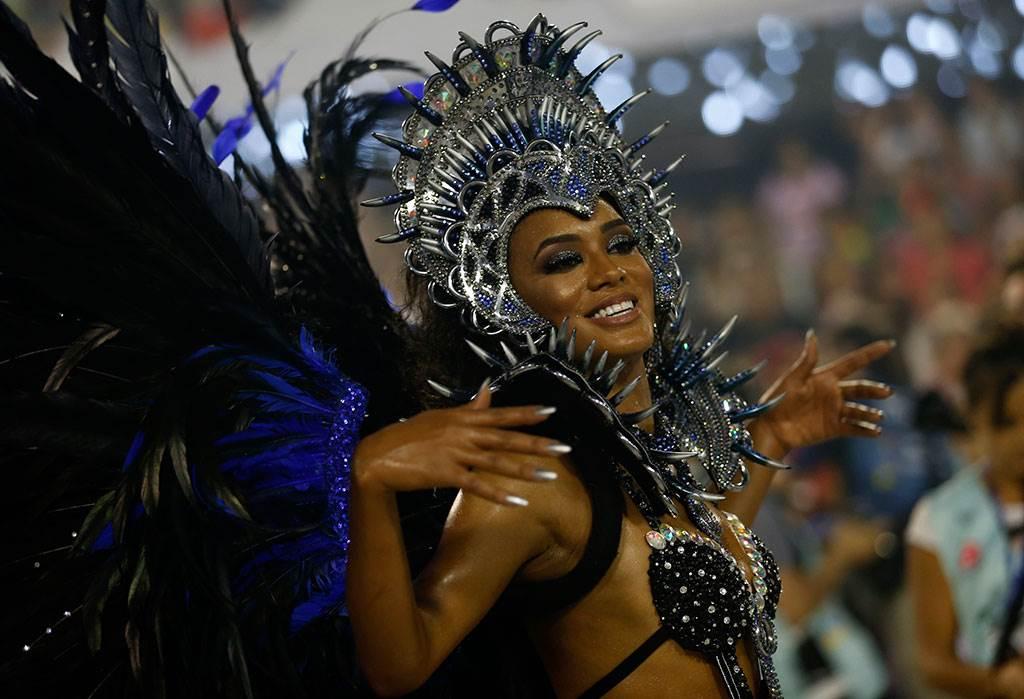 фотографии девушек с карнавала в бразилии