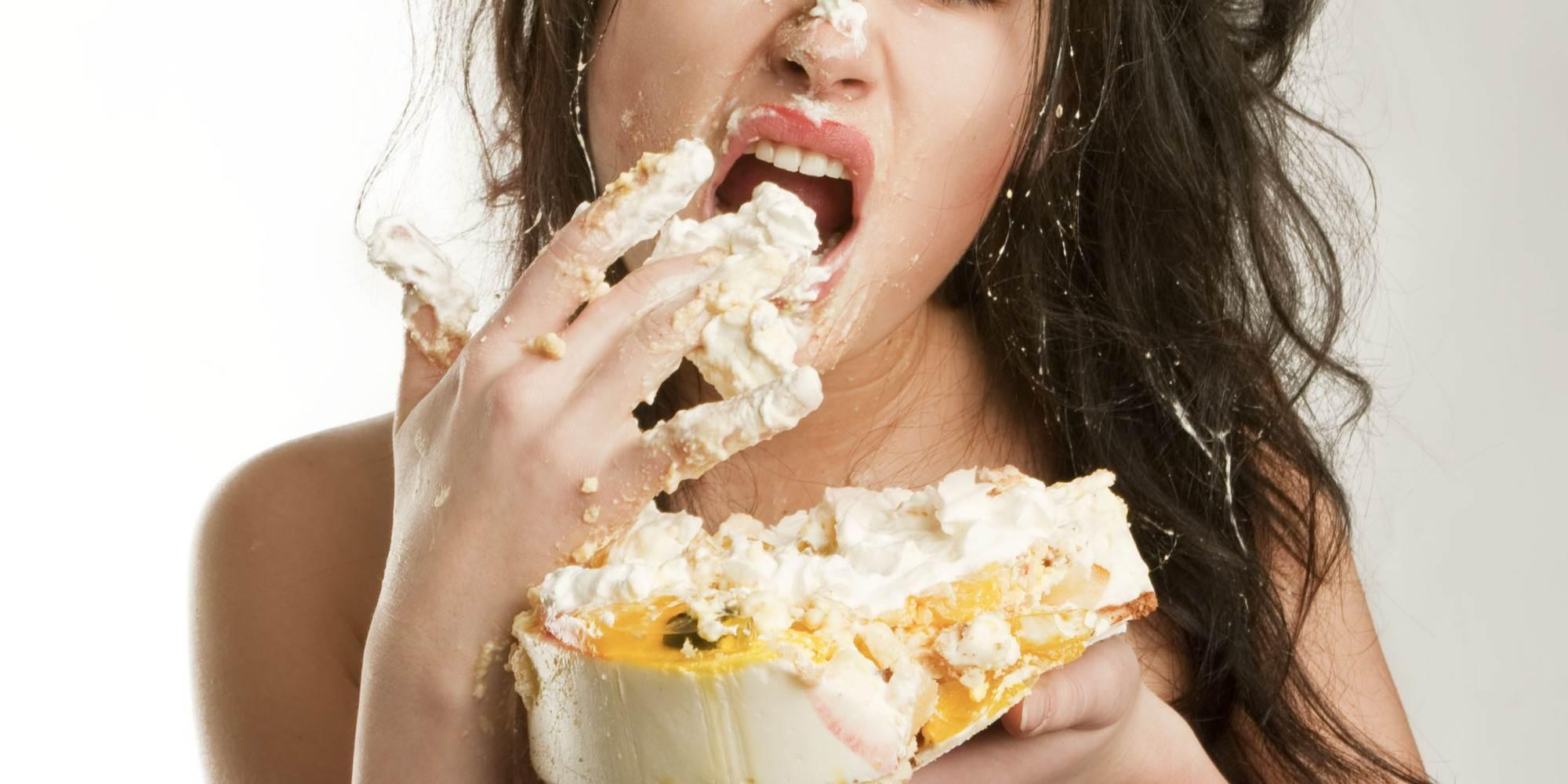 люди которые едят сладкое картинки