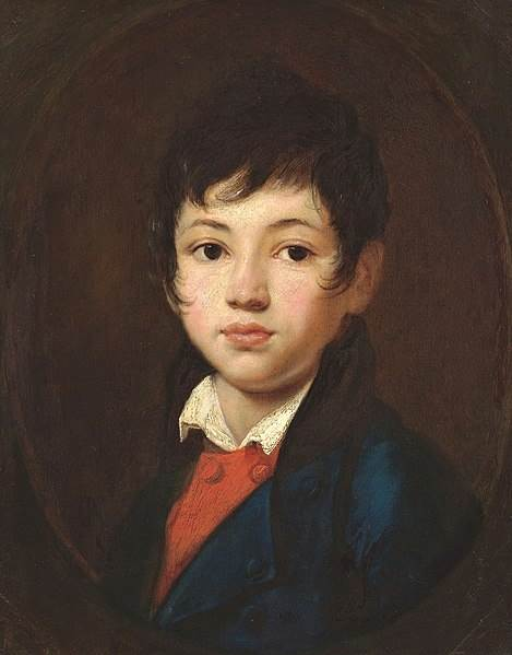 Картина Портрет мальчика Челищева Кипренский
