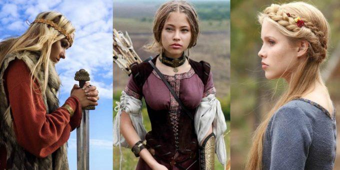 Красивый косплей с девушками-викингами (22 фото)