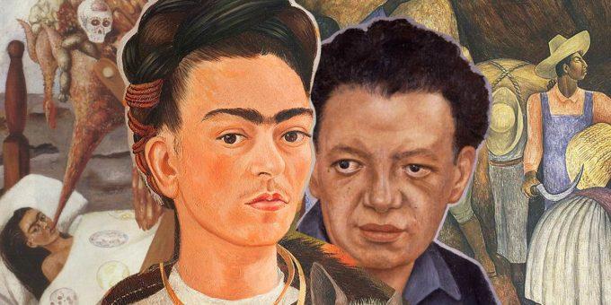 «Фрида Кало и Диего Ривера» выставка в СПб 2019