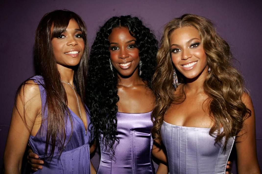Все певицы, которые в разное время выступали в группе Destiny — s Child