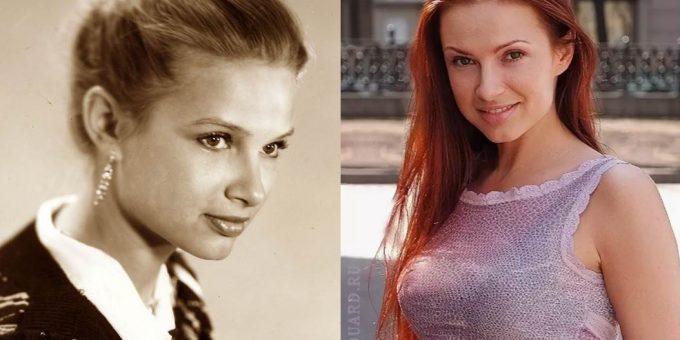 Как в молодости выглядела Эвелина Блёданс