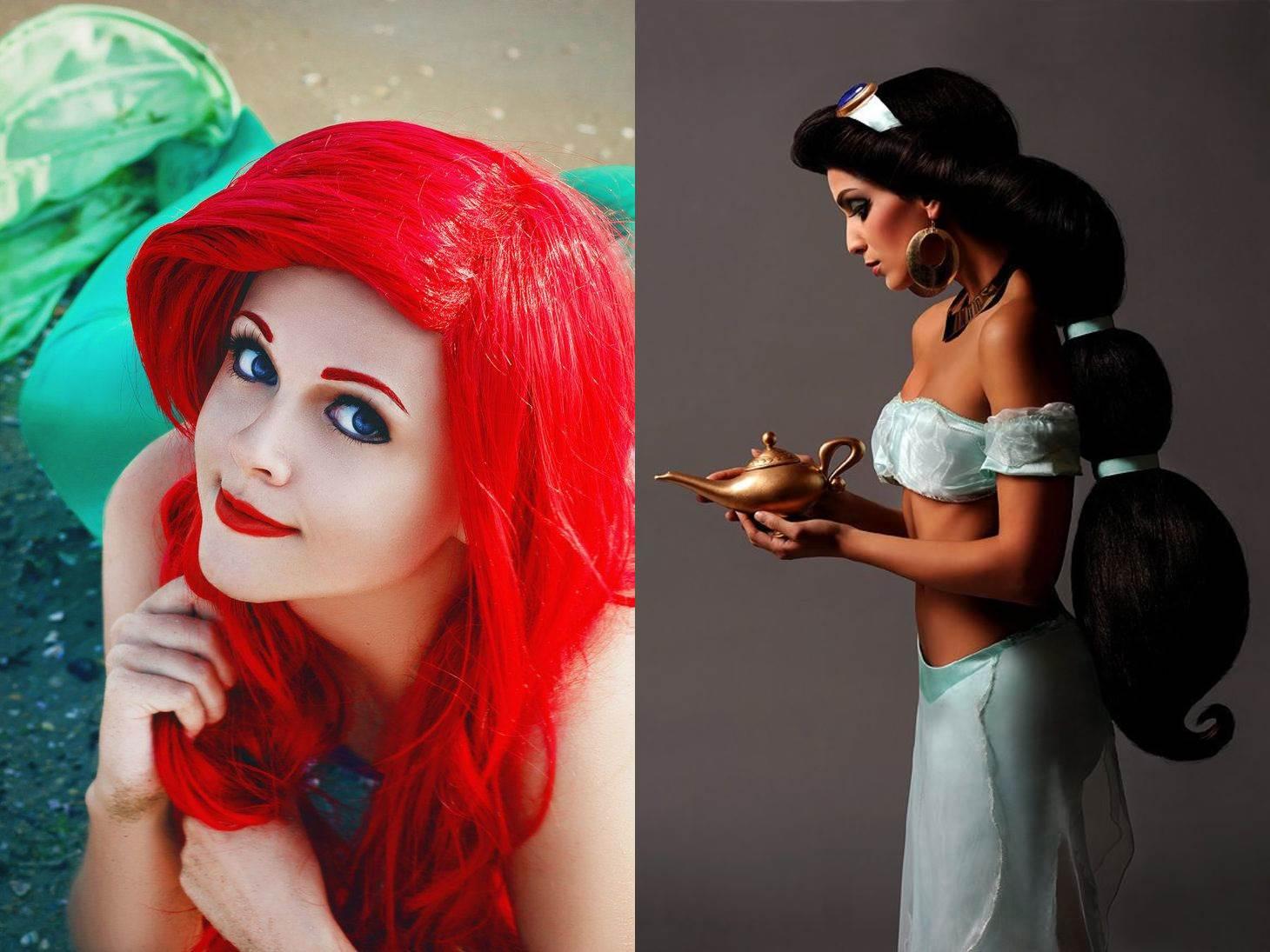 Красивый косплей с девушками на сказочных персонажей (18 фото)