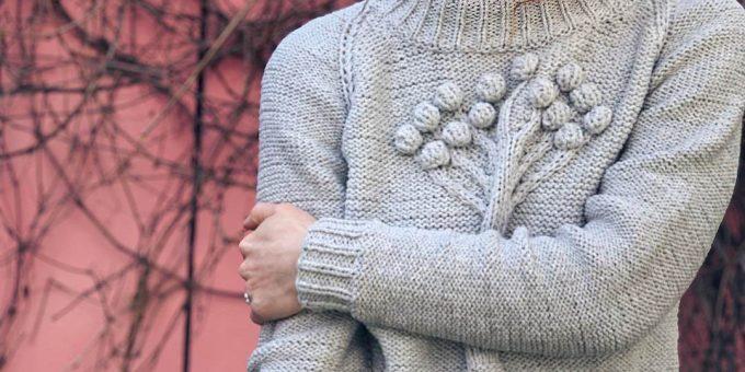 Где заказать вязаный свитер