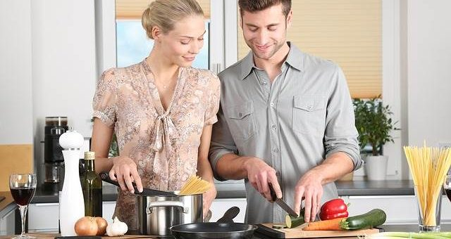 Готовка на кухне фото