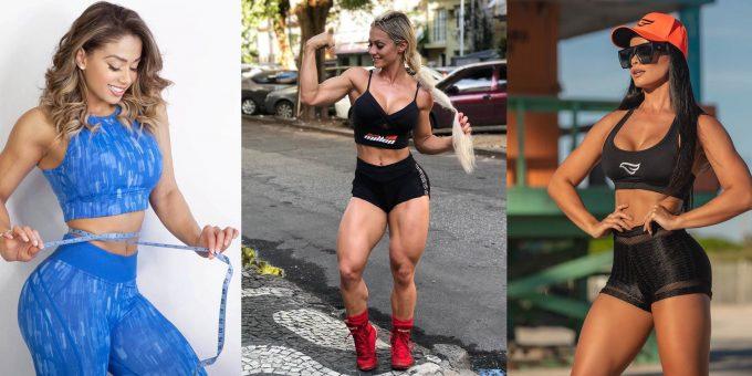 Самые красивые фитнес-модели Бразилии (15 фото)