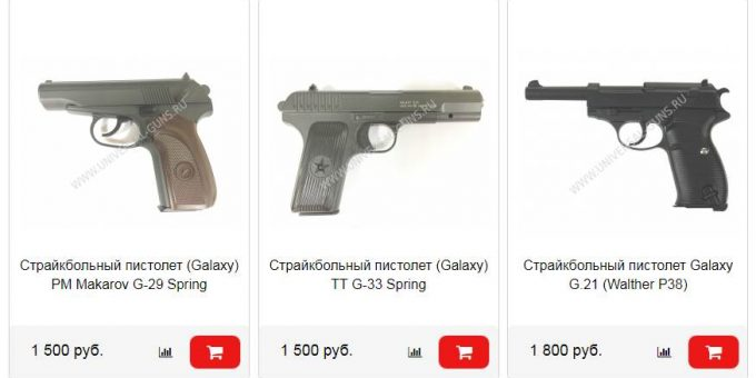 На что обращать внимание при выборе страйкбольного пистолета?