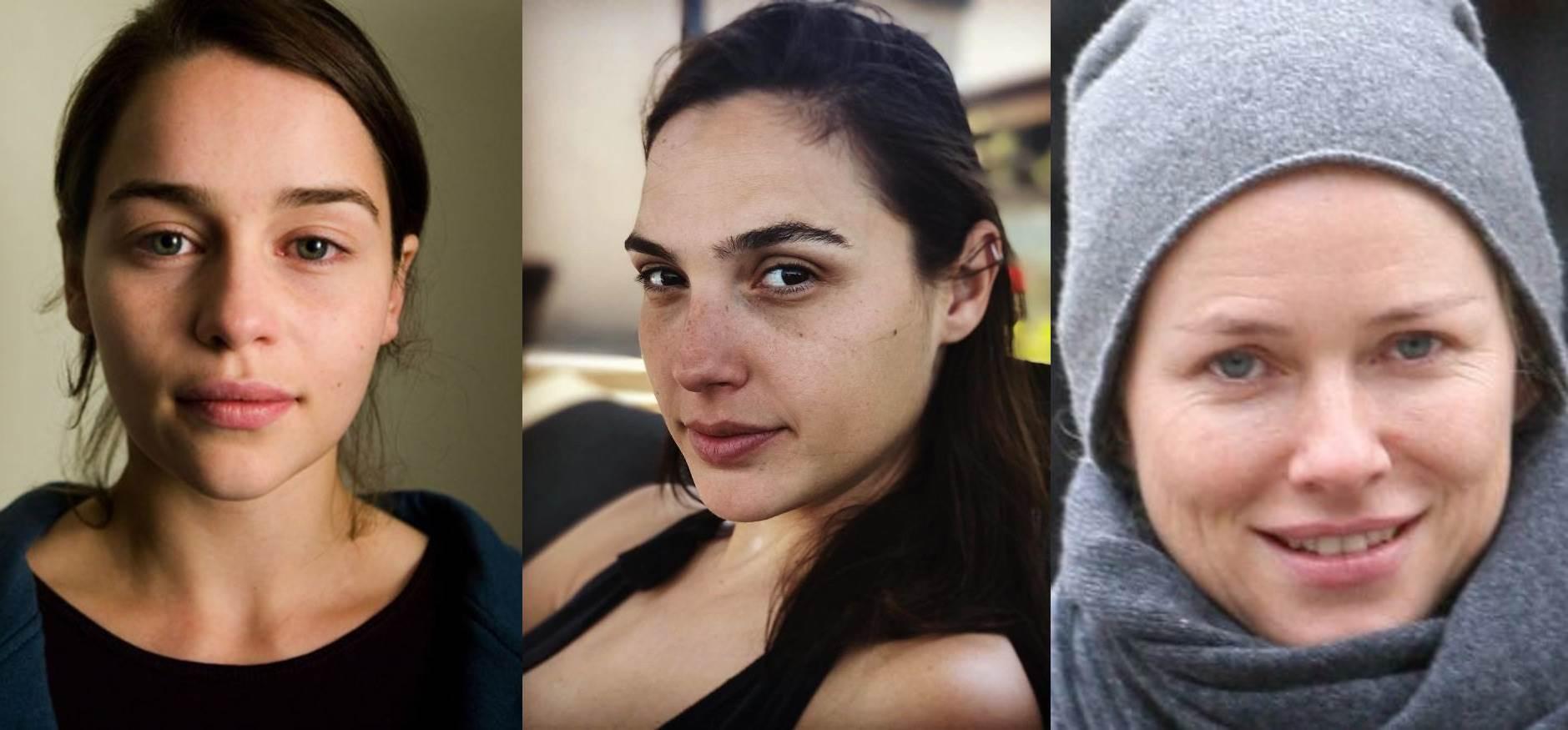 Как выглядят актрисы Голливуда без макияжа (18 фото)