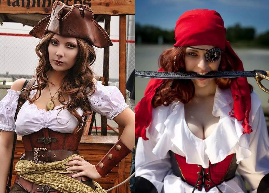 Красивый косплей на девушек-пиратов (20 фото)