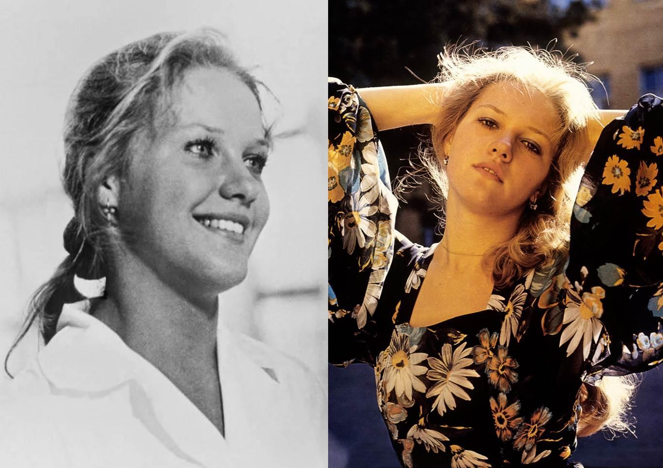 Как в молодости выглядела Елена Проклова (18 фото)