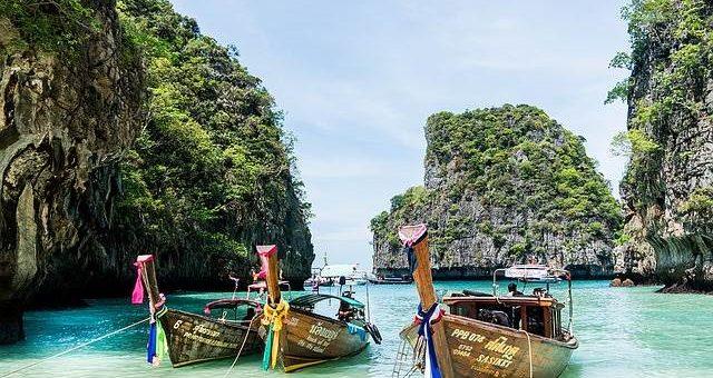 Лодки в Тайланде фото