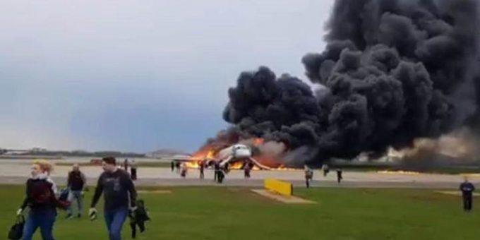 Авиакатастрофа в Шереметьево 5.05.2019 фото и видео