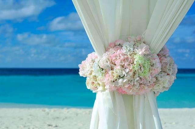 Свадьба у моря фото