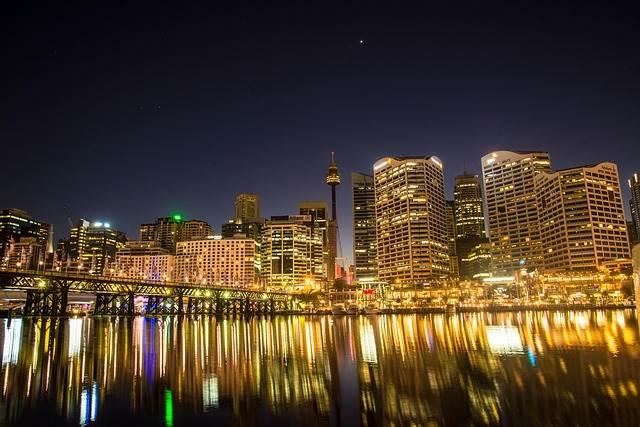 Город Сидней в Австралии фото