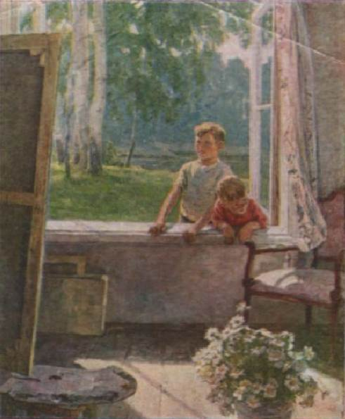 Сыромятникова картина Первые зрители