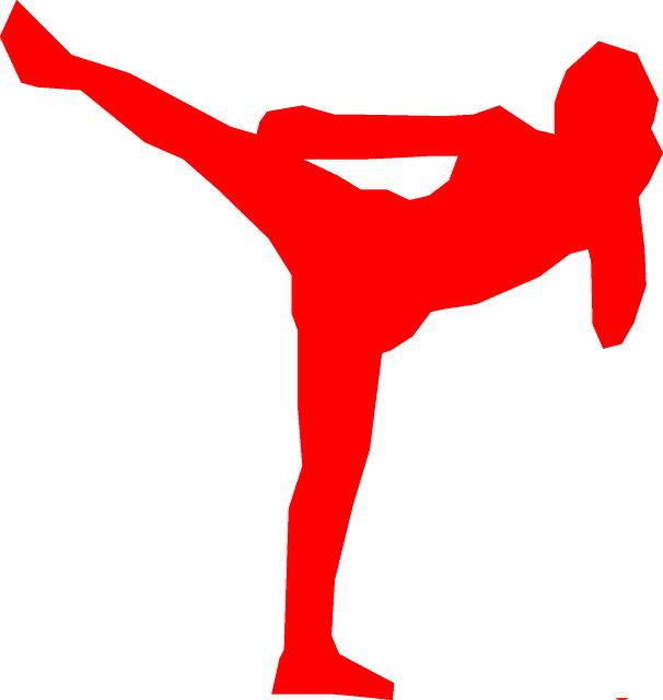 Кикбоксинг рисунок