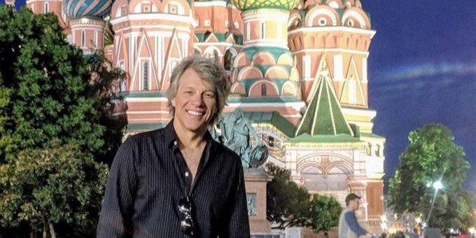 Джон Бон Джови в Москве 2019 фото