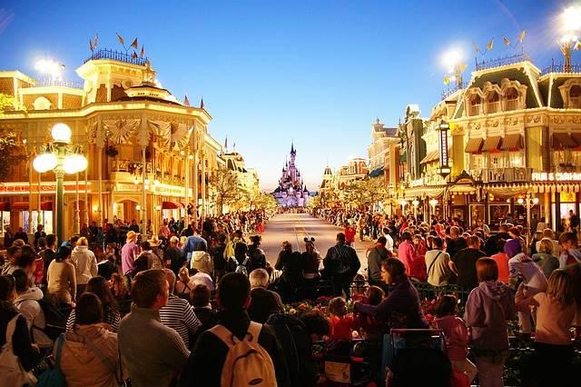 Диснейленд в Париже фото