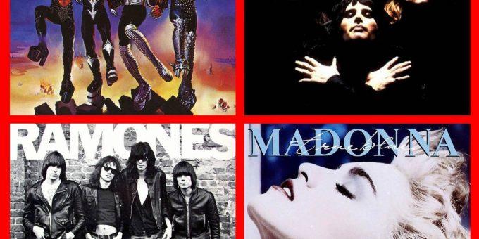 25 самых известных обложек музыкальных альбомов мира