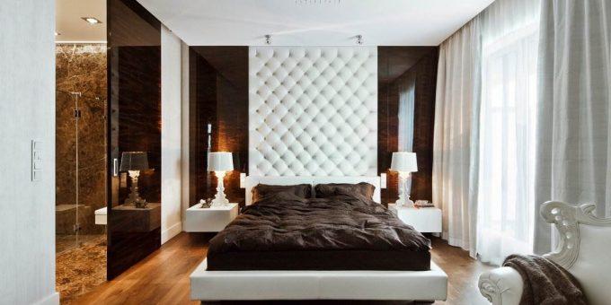 Красивый дизайн спальни в современном стиле (15 фото)