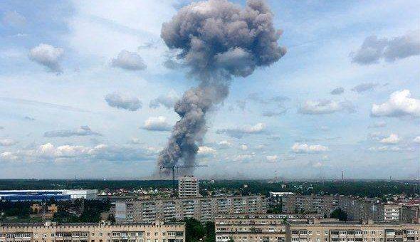 Взрыв в Дзержинске 1.06.2019 фото и видео