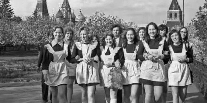 Выпускники в СССР (16 фото)